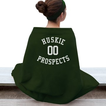 Huskie Prospects Game Blanket