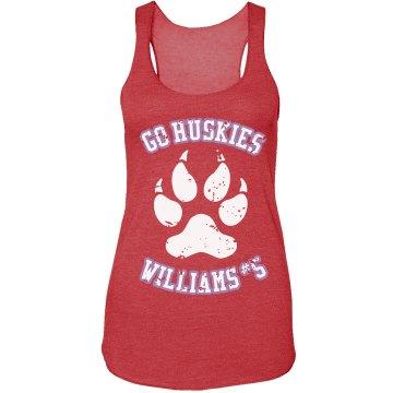 Huskies Girlfriend