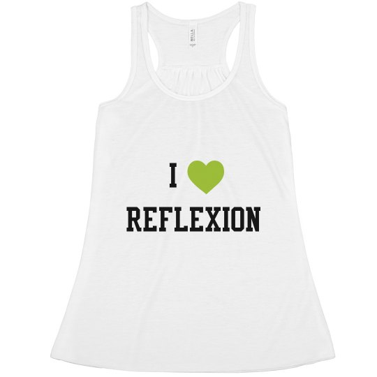 I <3 REFLEXION TANK ADULT
