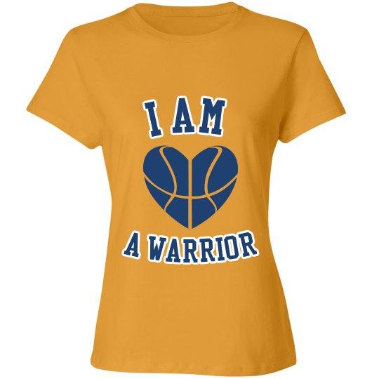 I am a warrior shirt yellow