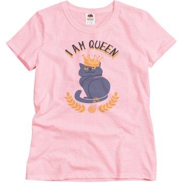 I am queen cat
