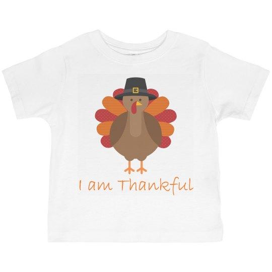 I am Thankful Turkey