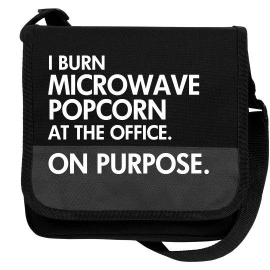 I Burn Office Popcorn