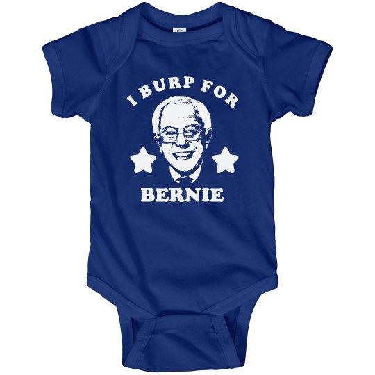 I Burp for Bernie Baby