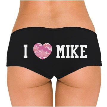 I Camo Heart Mike