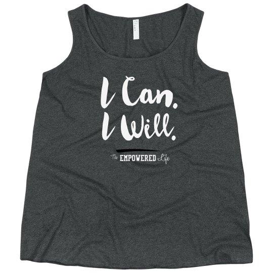 I Can I Will - tank