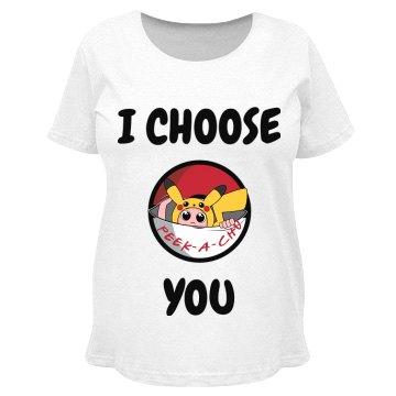 I choose PeekAChu