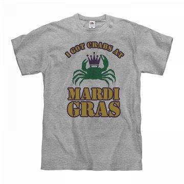 I Got Crabs At Mardi Gras