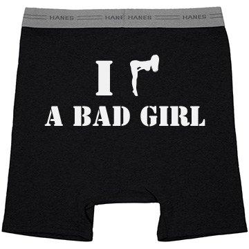 """""""I Heart a Bad Girl"""" Boxer Briefs"""