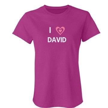 I Heart Custom Shirt