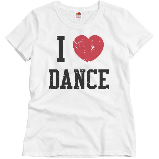 I Heart Dance Distress