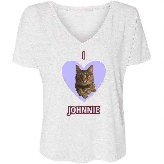 I Heart Johnnie maroon