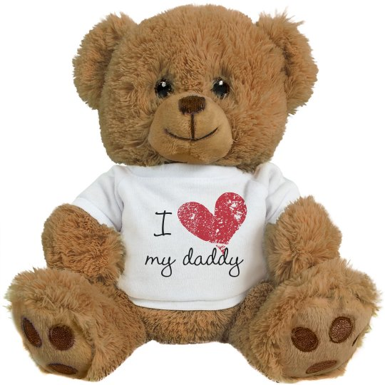 I Heart My Daddy Design