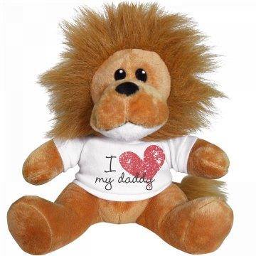 I Heart My Daddy Lion
