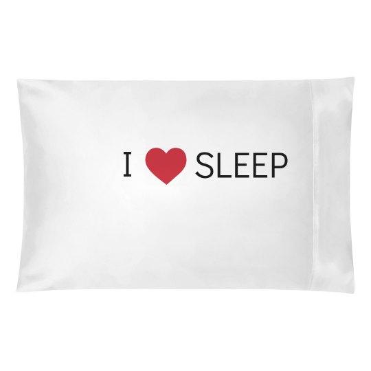 I Heart Sleep - Pillow