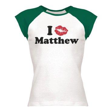I Kiss Matthew