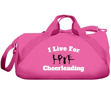 I live for cheerleading