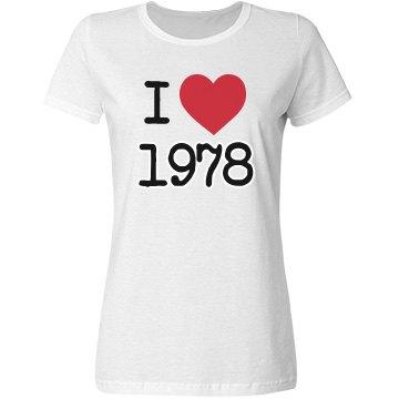 I love 1978