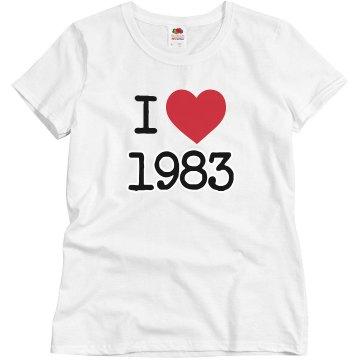 I love 1983