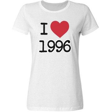 I love 1996