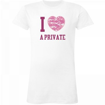 I Love a Private