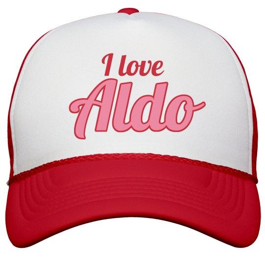 I love Aldo