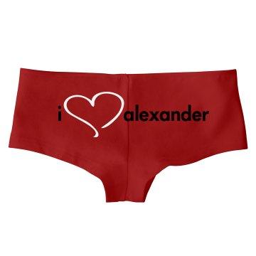 I Love Alexandar