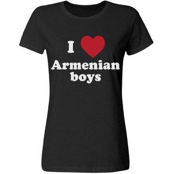 I love Armenian boys!