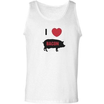 I Love Bacon Tank