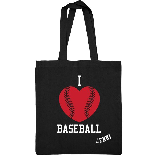 I Love Baseball Sling Bag