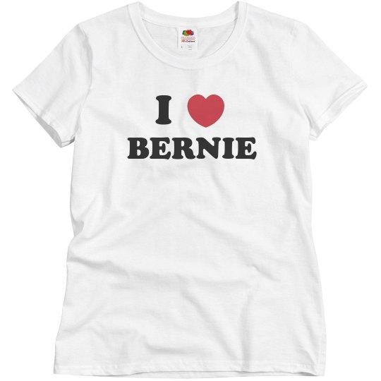 I love Bernie