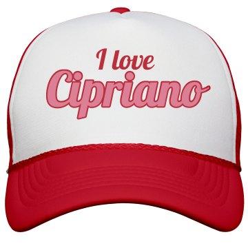 I love Cipriano