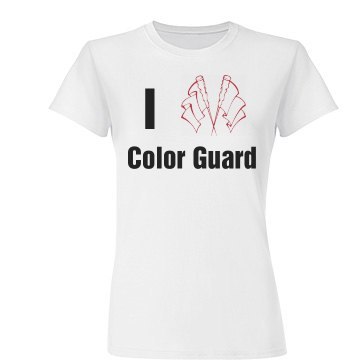 I Love Color Guard