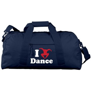 I Love Dance Bag
