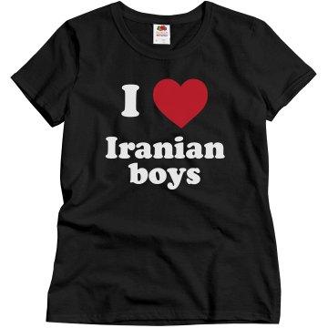 I love Iranian boys!