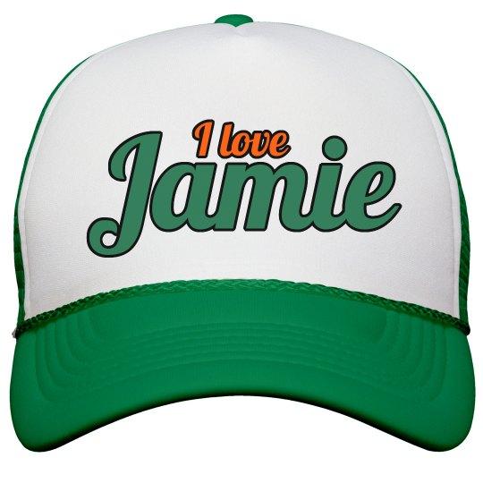 I love Jamie