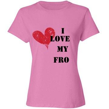 I Love My Fro Tee