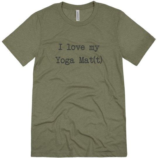 """I love my """"yoga matt"""""""