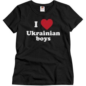I love Ukrainian boys!