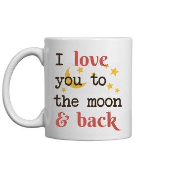 I Love you to the moon&back mug