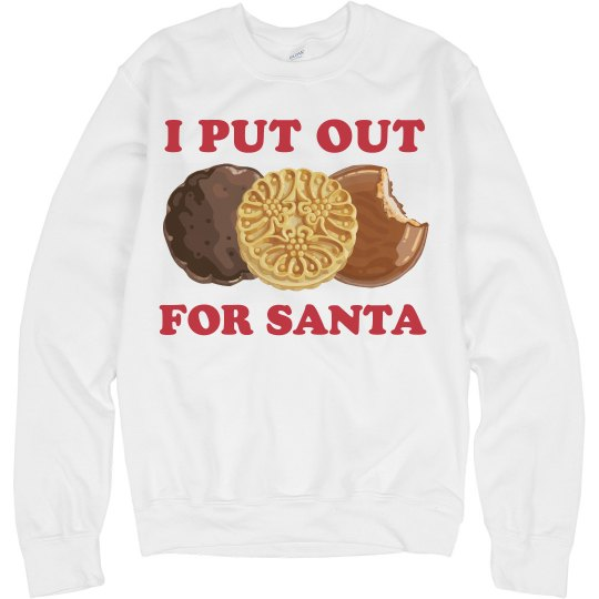 I Put Out Cookies Santa