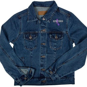 I Remember Me - Ladies Denim Jacket