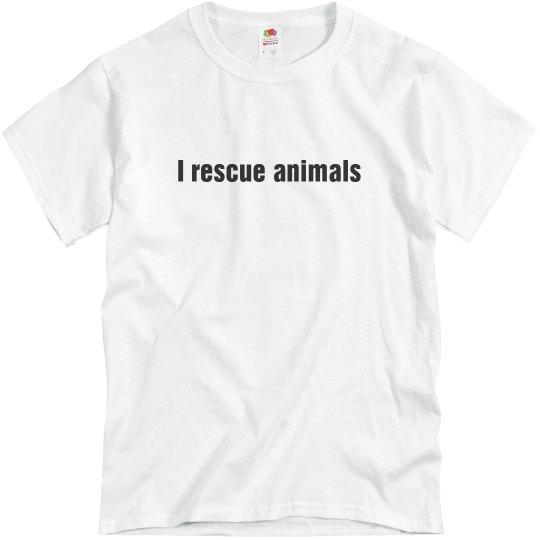 I rescue animals