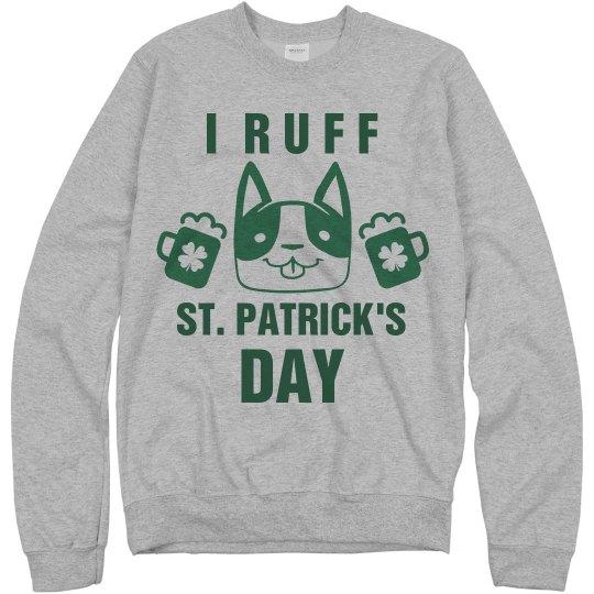 I Ruff St. Patrick's Day