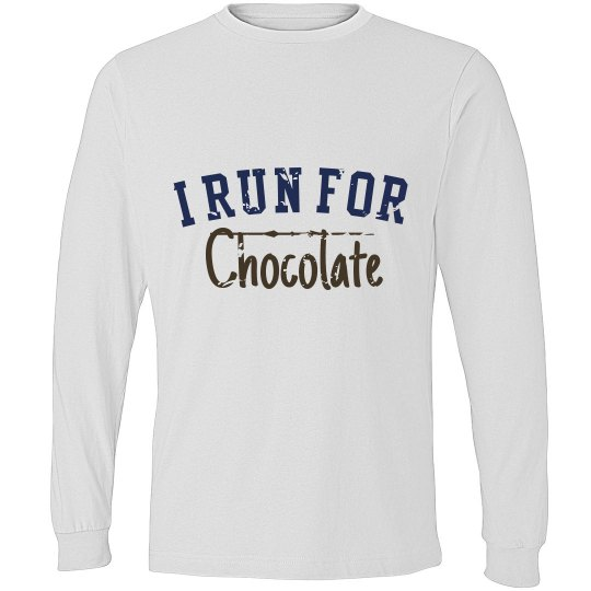 I Run for Chocolate Unisex Tee