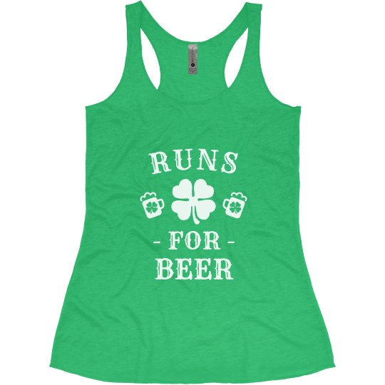 I Run for the Beer St. Patrick's