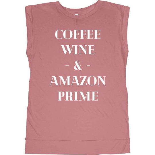 I Run on Coffee & Wine