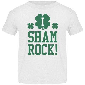 I Shamrock St Pattys Kid Tees