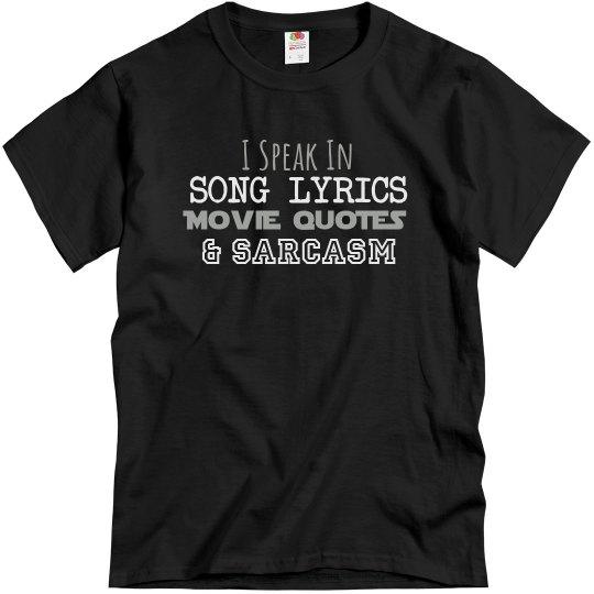 I Speak Sarcasm