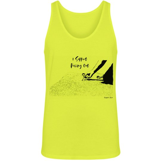 I Support Pulling Out - Men / Unisex - Neon Tank Top